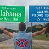 Entrando in Alabama