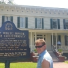 A Montgomery, entrando alla First White House of the Confederacy