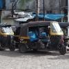 Rickshaws a Dharavi