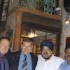 Al Pali Village Café con Franco, Anup Bathia e Jeevan Madai
