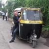 Su e giù dal rickshaw