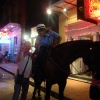 Bourbon St, Mounted Police NOPD