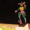 Canal St, Mardi Gras Statue