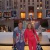 Manhattan, Rockefeller Center con mamma