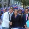 Manhattan, Fifth Avenue, Columbus Day 2006 con Hillary Clinton