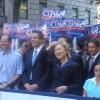 Manhattan, Fifth Avenue, Columbus Day, Hillary Clinton