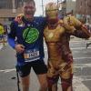 Nel Queens, durante la New York Marathon 2017