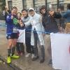 A Brooklyn, durante la New York Marathon