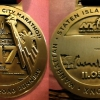 La medaglia della New York Marathon 2017