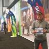 A Manhattan, ritiro pettorali al Jacob K. Javits Convention Center