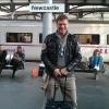 Arrivo a Newcastle da Leeds