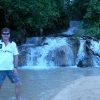 A Dunn's Falls con Steve the Giant
