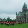 Parliament Hill, cambio della Guardia