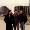 La Défense, con Paolo e Claudio