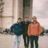 Arc du Triomphe, con Manu e Max