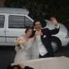 Claire e Stru sposi