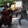 A Mutianyu, Performers ai piedi della Grande Muraglia