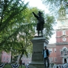 Independence Hall, statua Barry