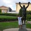 Philadelphia Museum, statua Rocky Balboa