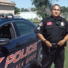 A Pine Ridge, con un agente dell'Oglala Sioux Police
