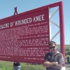 A Wounded Knee, cartello memoriale