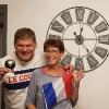 Vittoria con Adri a scopa d'Assi a Bourcefranc con 7 e poi 9 di Napola!