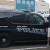 A Rockdale lungo Cameron Avenue col Capo della Polizia di Milano Colin Owen