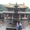 Nel Tempio di Jing'an
