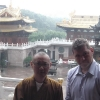 Nel tempio di Tempio di Jing'an