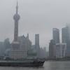 La Skyline sul fiume Huangpu