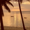 Flamingo Beach Hotel, tramonto