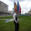 Piazza Nezavisimost, bandiere Nato