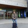 Arrivo nella base Nato Joint Warfare Centre