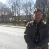 Davanti alla base militare norvegese KNM Harald Haarfagre a Madla