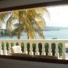 Al Buccaneer Hotel, vista dalla camera