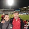 Cricket Ground, partita AFL Sydney Swans- Essendon con Michael