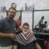 A Tbilisi, dal barbiere in Marjanishvili  Street