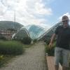 A Tbilisi, verso il Bridge of Peace