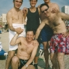 Spiaggia con amici del Keren Hayesod Italia