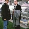 Hanappi Stadion, con papà