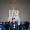 A Washington,al Lincoln Memorial nel National Mall presso il Korean War Memorial