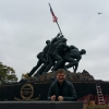 A Washington, al Il Marine Corps War Memorial o Iwo Jima Memorial