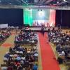 Colpo d'occhio del Padiglione 1 di Malpensa Fieredurante il discorso del Comandante Gen.Roberto Perretti