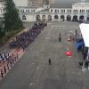 Il colpo d'occhio sulla Scuola Militare Teulié