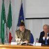 Un momento della presentazione a Villa Recalcati