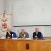 A Varese, Villa Recalcati il tavolo dei relatori: il Prefetto Zanzi, il Gen.Michele Cittadellae il Presidente della Provincia Gunnar Vincenzi