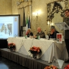 Un momento della presentazione nel Salone Radetzky di Palazzo Cusani