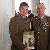 A Varese, Villa Recalcati, con il Gen.Roberto Perretti, Comandante di NRDC-Ita