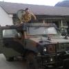 5.11.13, Aosta: sul Lince alla Caserma Battisti, sede del Battaglione Alpini Aosta