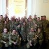 7.11.13, Torino: all'ingresso della sala-pranzo di Palazzo Arsenale
